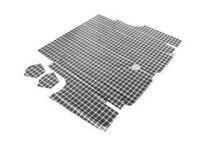 65-66 TRUNK MAT PLAID CP,CV