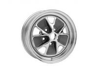 65-67 Styled Steel Wheel (15x7 Chrome Rim)